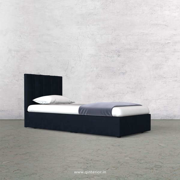 Leo Single Bed in Fab Leather Fabric - SBD009 FL05