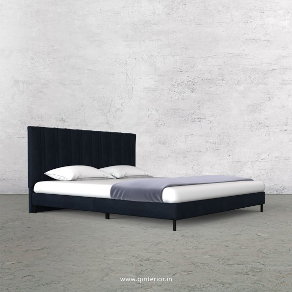 Leo King Size Bed in Fab Leather Fabric - KBD003 FL05