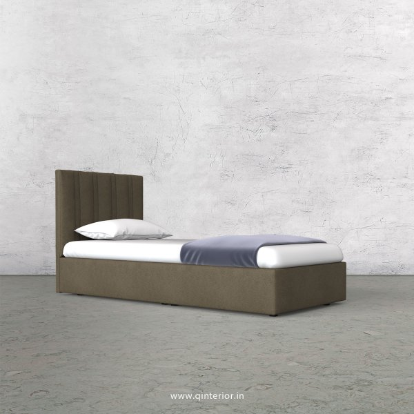 Leo Single Bed in Fab Leather Fabric - SBD009 FL06
