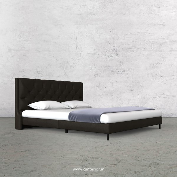 Scorpius King Size Bed in Fab Leather Fabric - KBD003 FL11