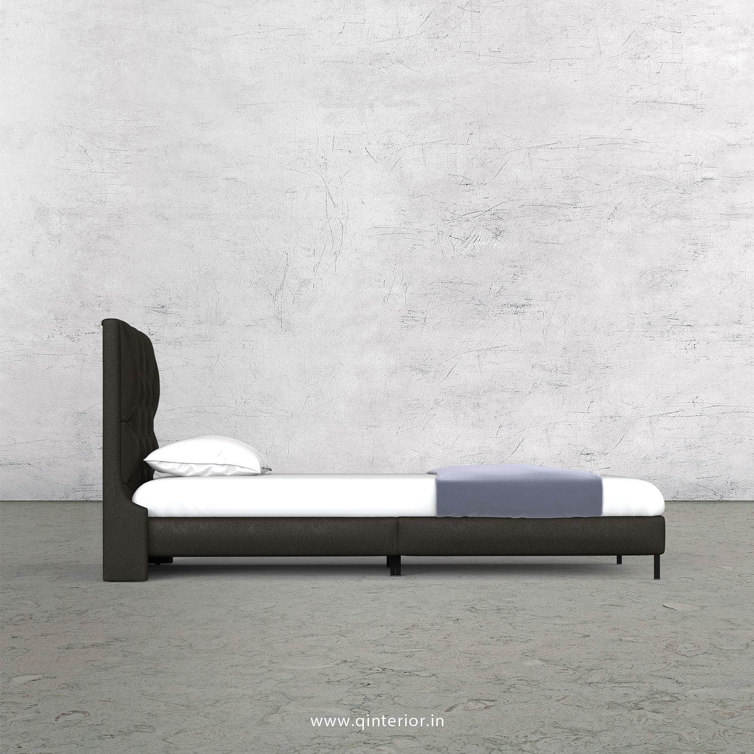Scorpius Single Bed in Fab Leather – SBD003 FL11