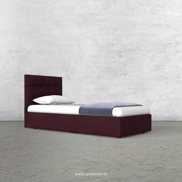 Lyra Single Bed in Fab Leather Fabric - SBD009 FL12