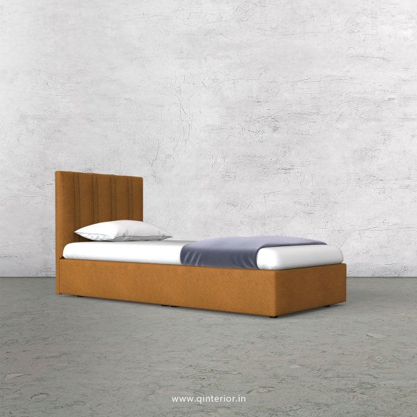 Leo Single Bed in Fab Leather Fabric - SBD009 FL14