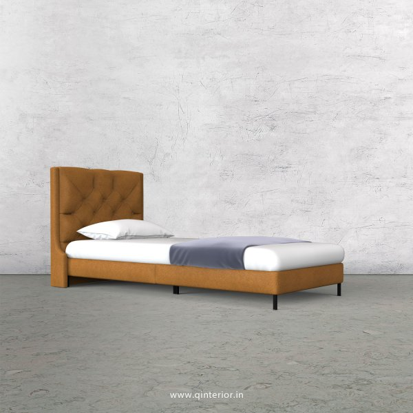 Scorpius Single Bed in Fab Leather – SBD003 FL14