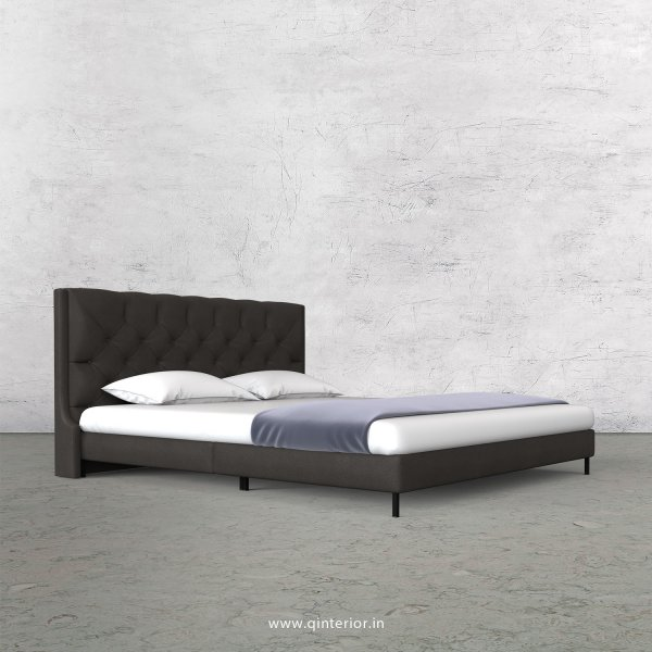 Scorpius Queen Size Bed with Fab Leather Fabric - QBD003 FL15