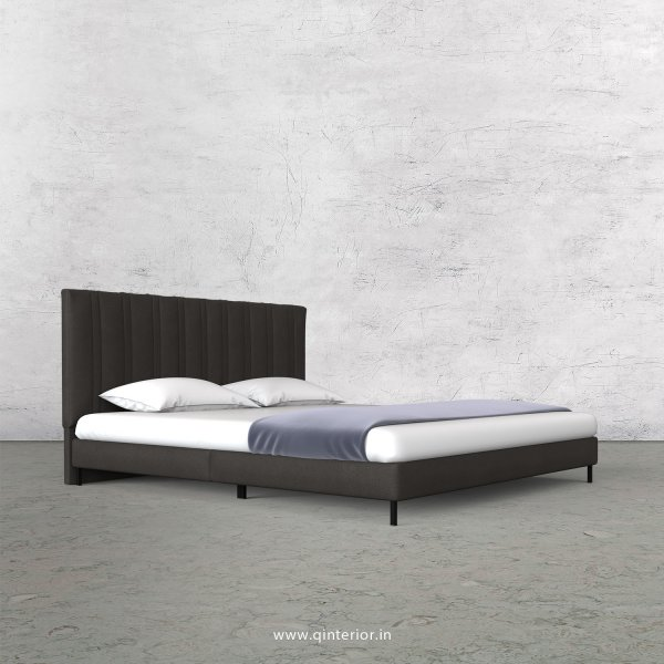 Leo Queen Size Bed with Fab Leather Fabric - QBD003 FL15