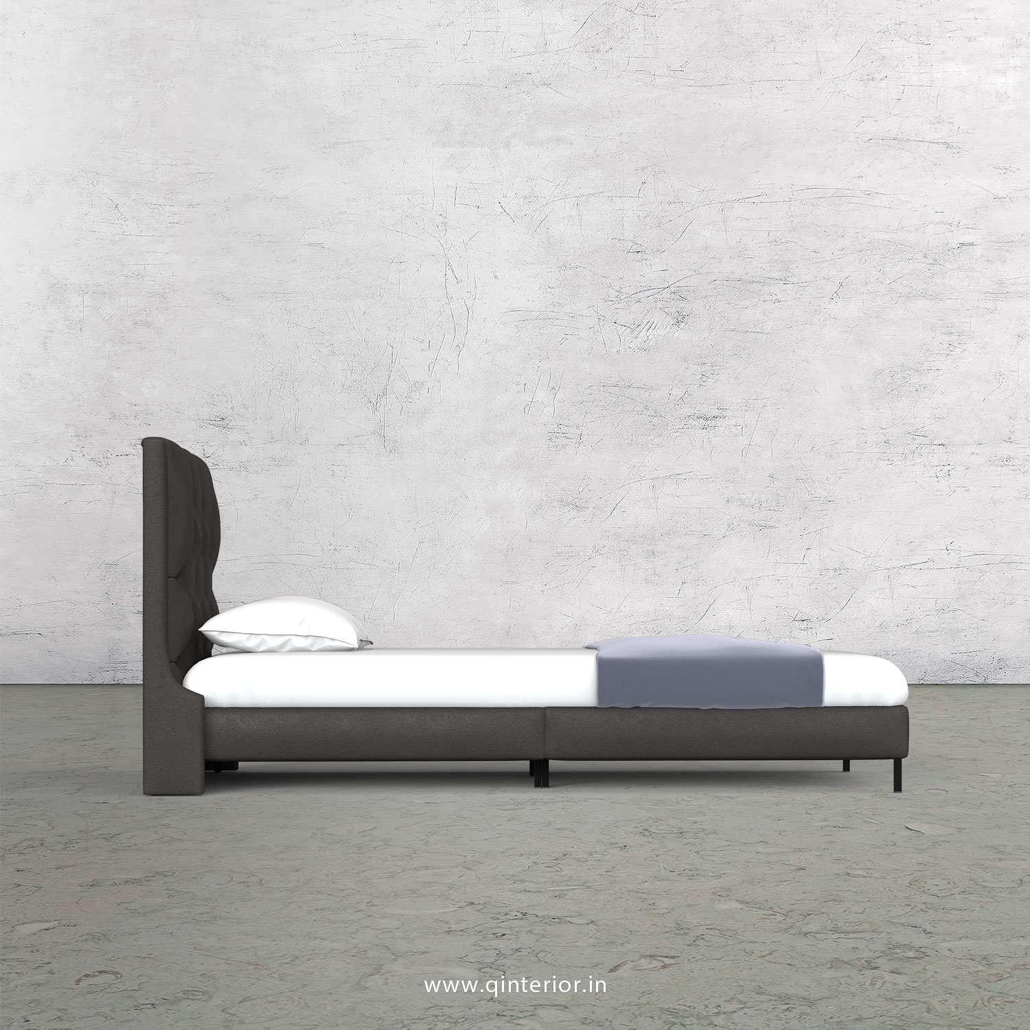 Scorpius Single Bed in Fab Leather – SBD003 FL15