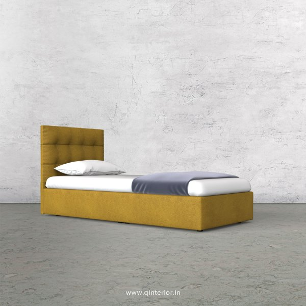 Lyra Single Bed in Fab Leather Fabric - SBD009 FL18