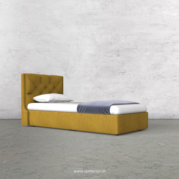 Scorpius Single Bed in Fab Leather Fabric - SBD009 FL18