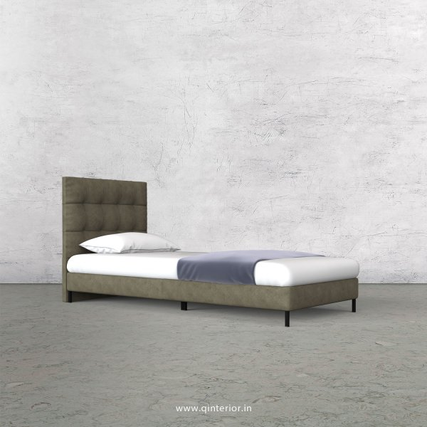 Lyra Single Bed in Fab Leather – SBD003 FL03