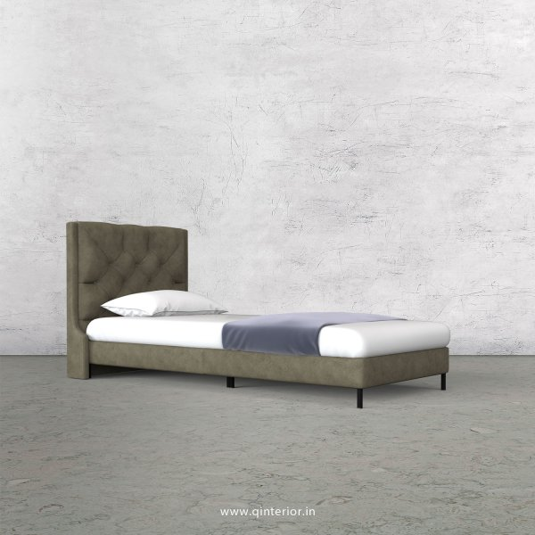 Scorpius Single Bed in Fab Leather – SBD003 FL03