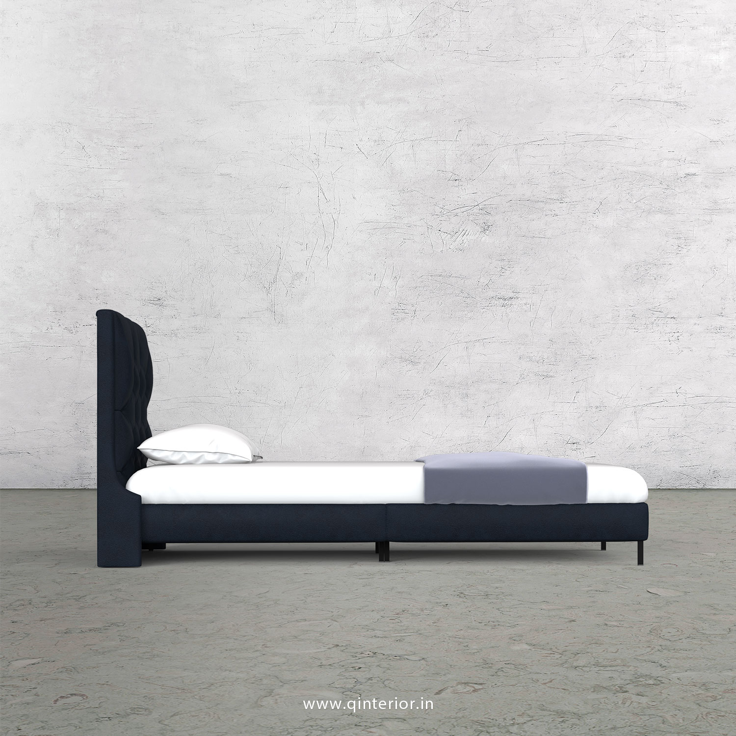 Scorpius Single Bed in Fab Leather – SBD003 FL05