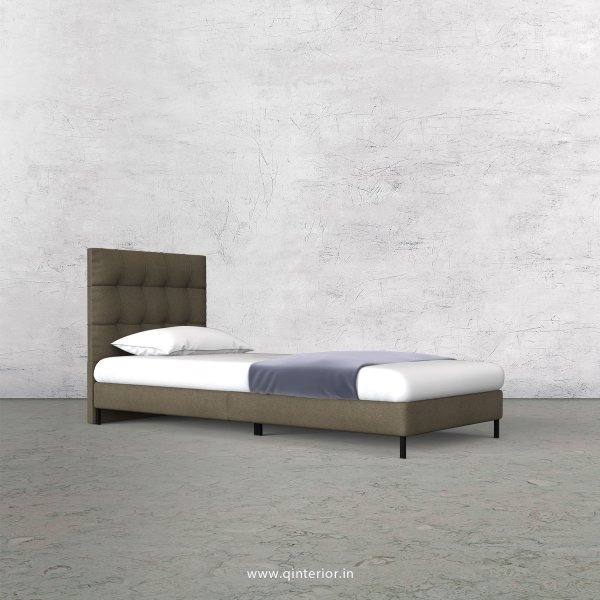 Lyra Single Bed in Fab Leather – SBD003 FL06