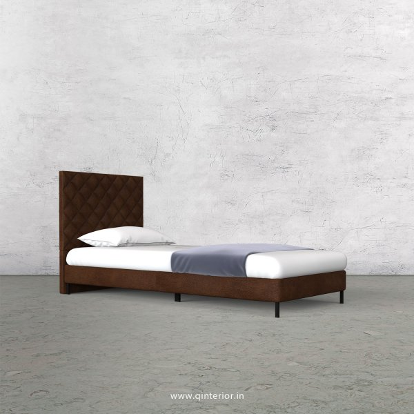 Aquila Single Bed in Fab Leather – SBD003 FL09