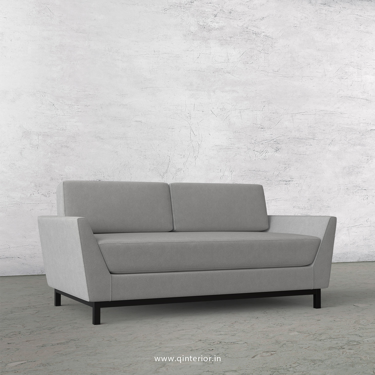 Blitz 2 Seater Sofa in Velvet Fabric - SFA002 VL06