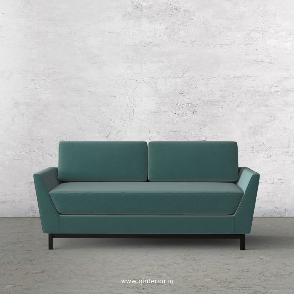 Blitz 2 Seater Sofa in Velvet Fabric - SFA002 VL14