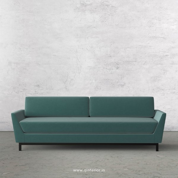 Blitz 3 Seater Sofa in Velvet Fabric - SFA002 VL14