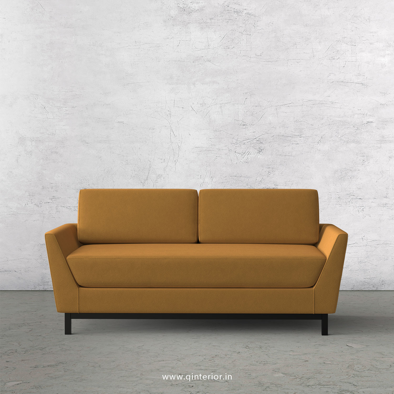Blitz 2 Seater Sofa in Velvet Fabric - SFA002 VL18