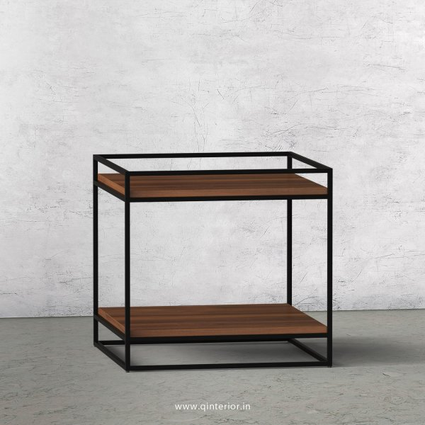 Opulent Side Table with Teak Finish - OST008 C3