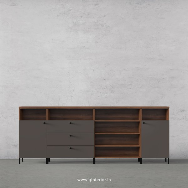 Lambent Chest of Drawer in Teak and Slate Finish – COD020 C15