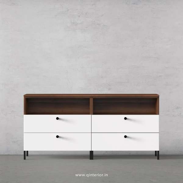 Lambent Chest of Drawer in Teak and White Finish – COD002 C6