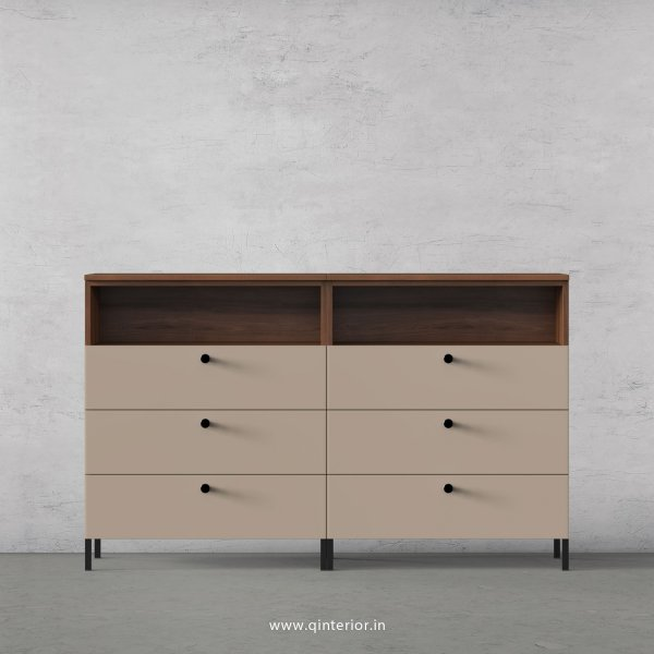 Lambent Chest of Drawer in Teak and Cappuccino Finish – COD010 C20
