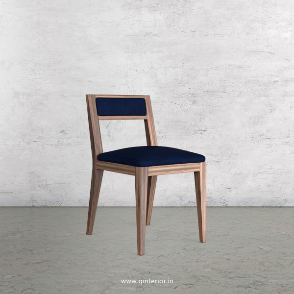 Lath Dining Chair in Fab Leather Fabric - DCH003 FL13