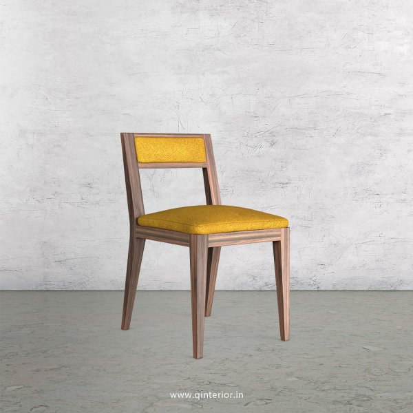 Lath Dining Chair in Fab Leather Fabric - DCH003 FL18