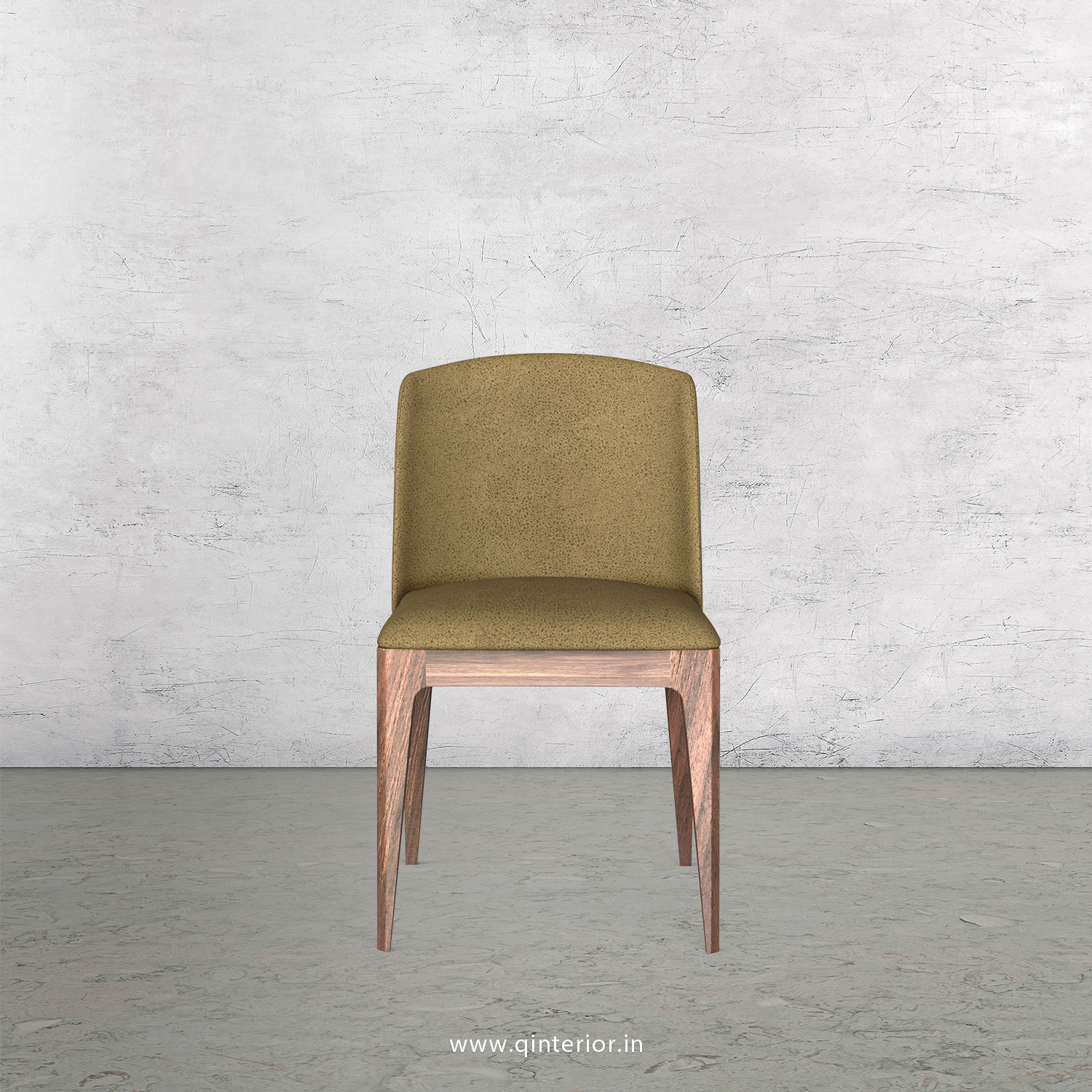 Cario Dining Chair in Fab Leather Fabric - DCH001 FL01