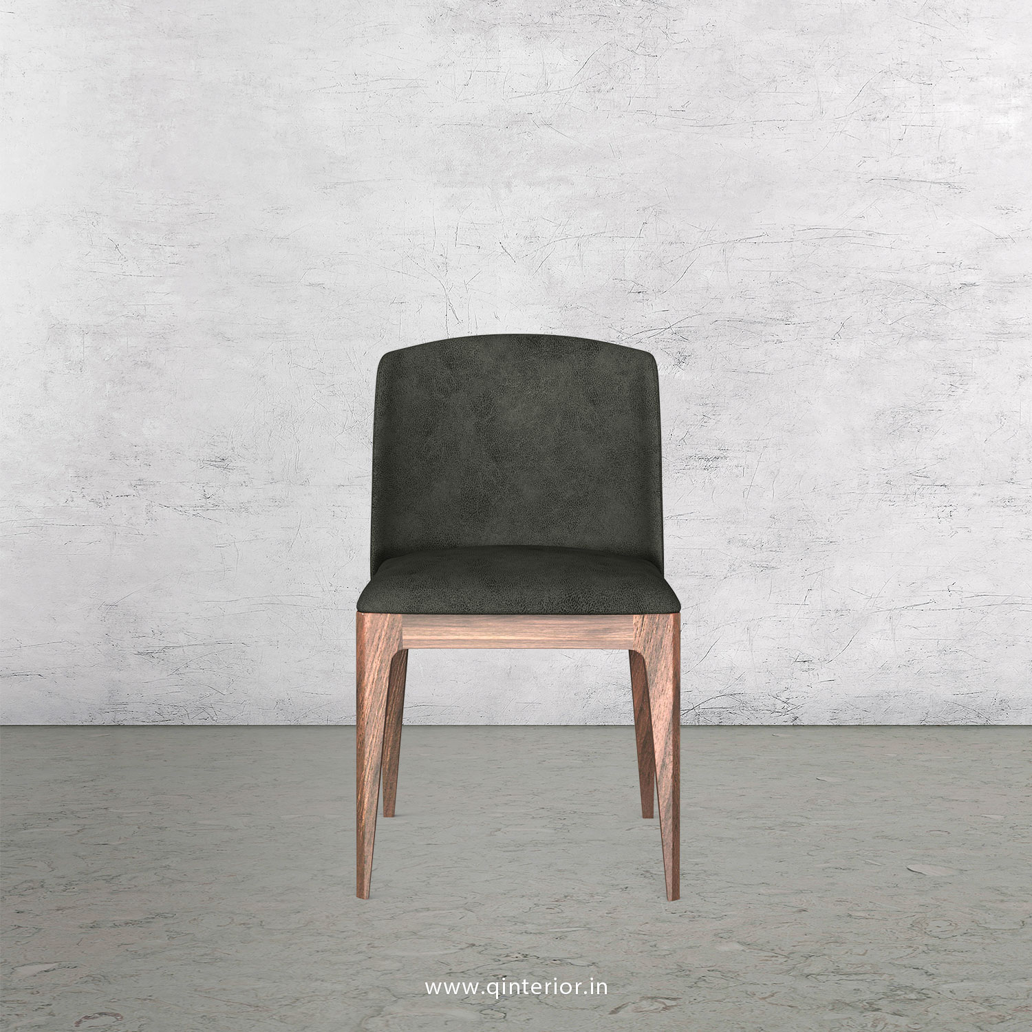 Cario Dining Chair in Fab Leather Fabric - DCH001 FL15