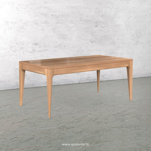 Vienna 6 Seater Dining Table in Oak Finish - DTB001 C2