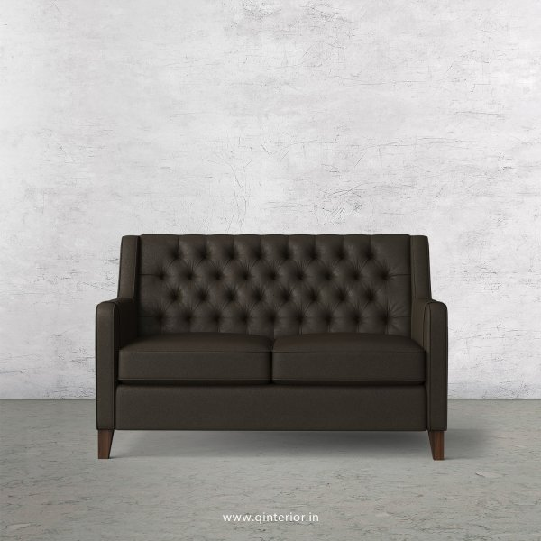 Eligence 2 Seater Sofa in Fab Leather Fabric - SFA011 FL11