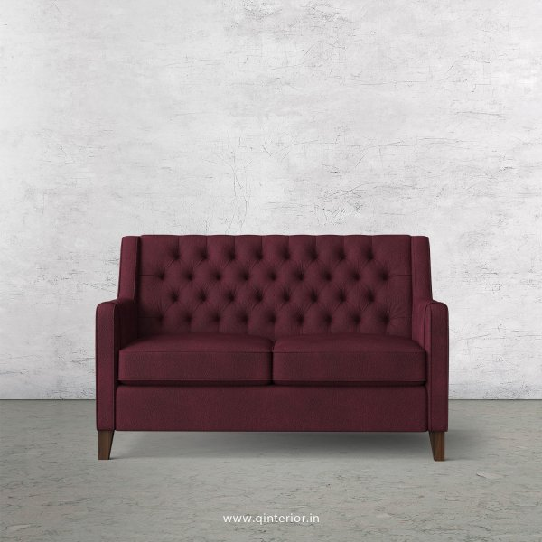 Eligence 2 Seater Sofa in Fab Leather Fabric - SFA011 FL12