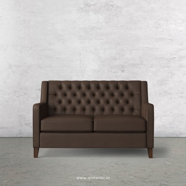Eligence 2 Seater Sofa in Fab Leather Fabric - SFA011 FL16
