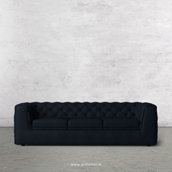 ERGO 1 Seater Sofa in Fab Leather Fabric - SFA009 FL05