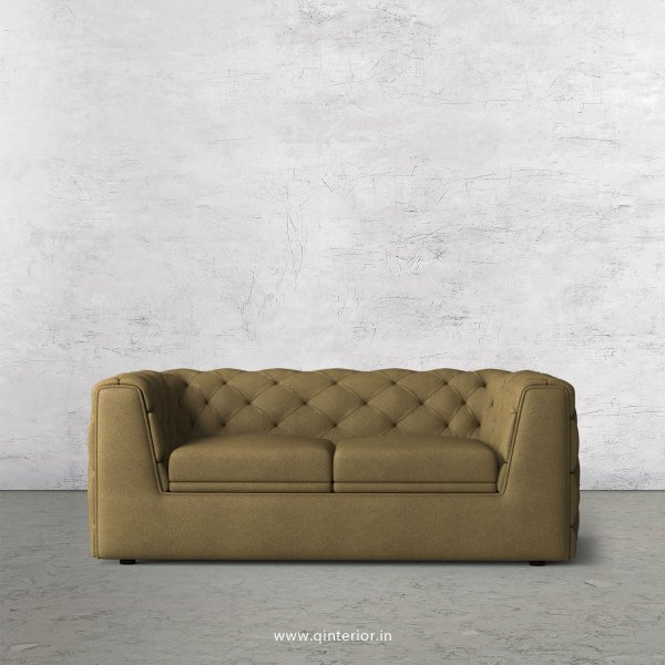 ERGO 2 Seater Sofa in Fab Leather Fabric - SFA009 FL01