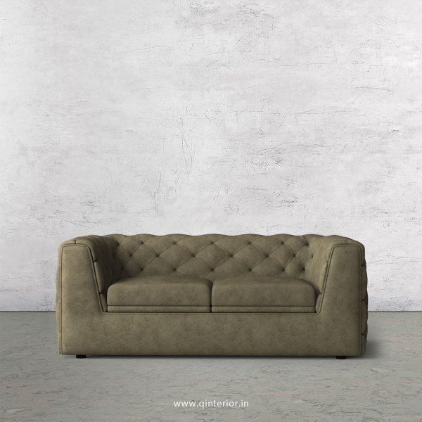 ERGO 2 Seater Sofa in Fab Leather Fabric - SFA009 FL03