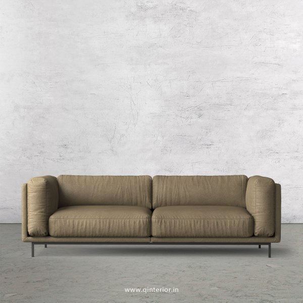 Estro 4 Seater Sofa in Fab Leather Fabric - SFA007 FL06