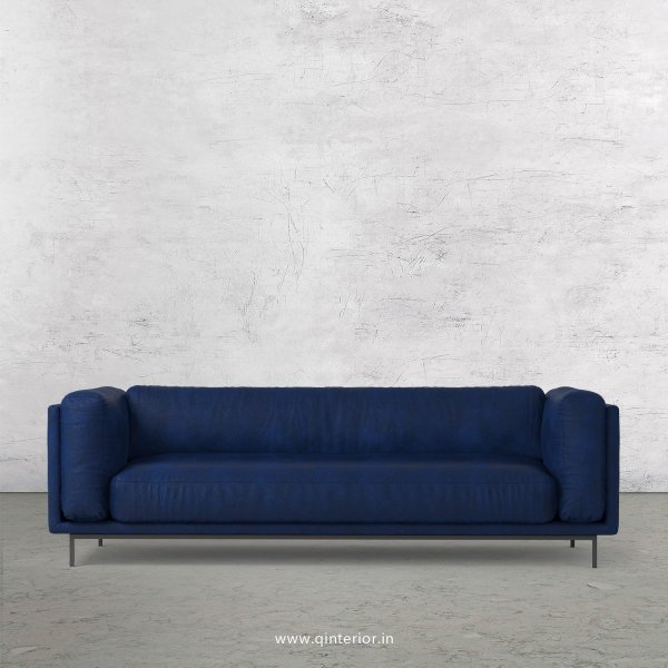 Estro 3 Seater Sofa in Fab Leather Fabric - SFA007 FL13