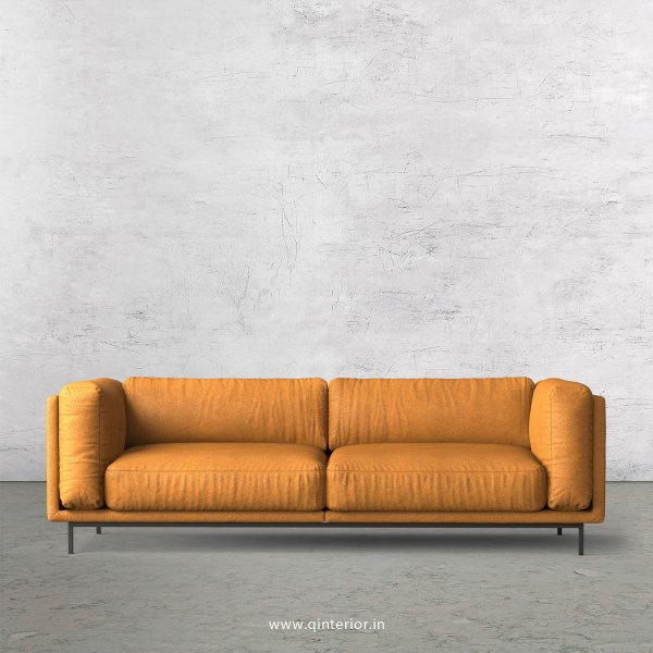 Estro 3 Seater Sofa in Fab Leather Fabric - SFA007 FL14