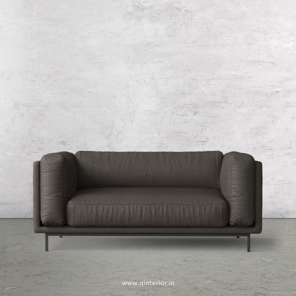 Estro 2 Seater Sofa in Fab Leather Fabric - SFA007 FL15