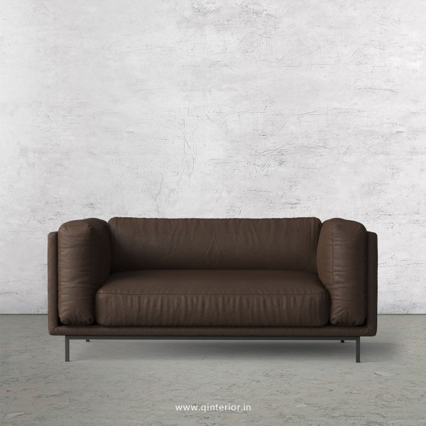 Estro 2 Seater Sofa in Fab Leather Fabric - SFA007 FL16