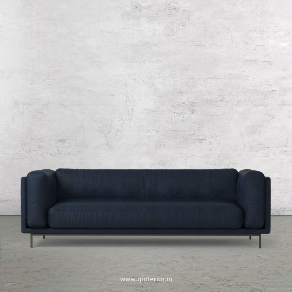 Estro 3 Seater Sofa in Fab Leather Fabric - SFA007 FL05