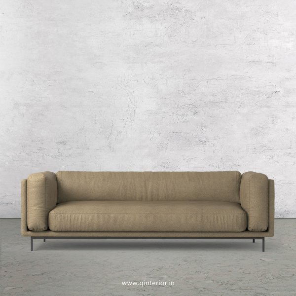 Estro 3 Seater Sofa in Fab Leather Fabric - SFA007 FL06