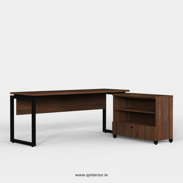 Aaron Executive Table in Walnut Finish - OET116 C1