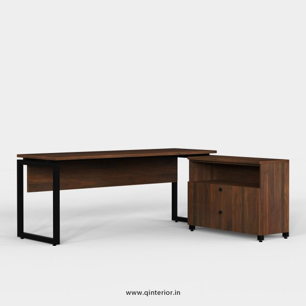 Aaron Executive Table in Walnut Finish - OET115 C1