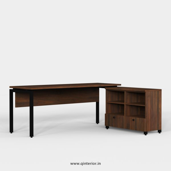 Montel Executive Table in Walnut Finish - OET110 C1