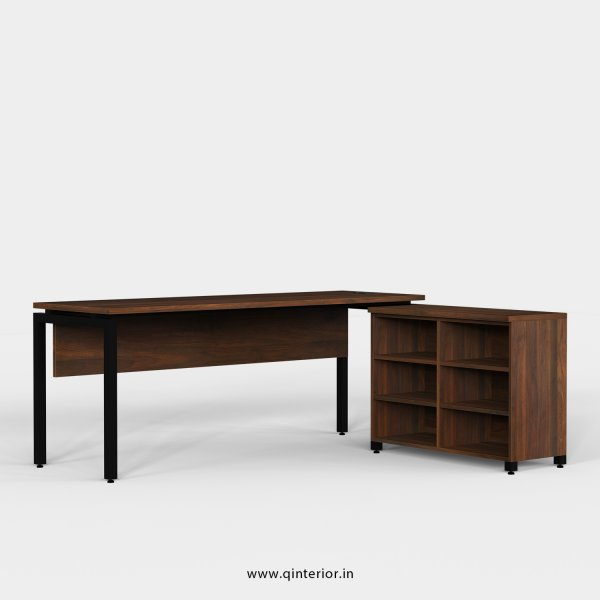 Montel Executive Table in Walnut Finish - OET102 C1