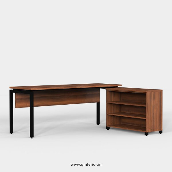 Montel Executive Table in Teak Finish - OET101 C3