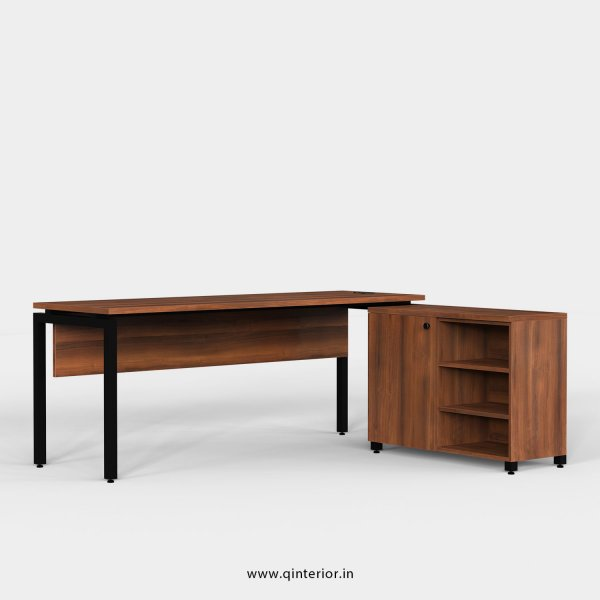 Montel Executive Table in Teak Finish - OET113 C3